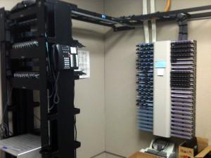 telecommunications closet image